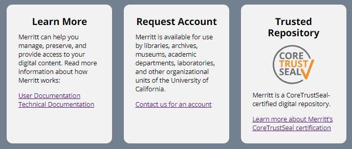 Merritt Uc3 California Digital Library