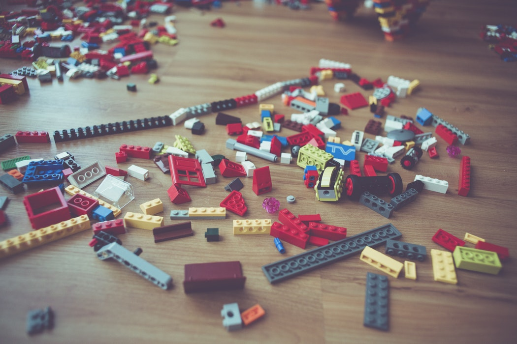 Lego Spill Photo